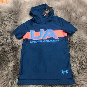 Under Armour Hooded Short Sleeve Shirt (PM1504)